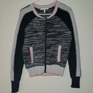 Victoria's Secret zip front sweater